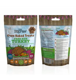 Little BigPaw Grain Free Free Run Oven Baked Turkey Dog Treats, 130g