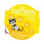 Little BigPaw Gourmet Tender Chicken Mousse Cat Wet Food, 85g