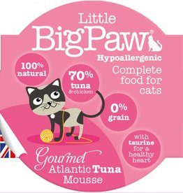Little BigPaw Gourmet Atlantic Tuna Mousse Cat Wet Food, 85g