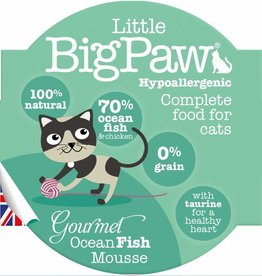Little BigPaw Gourmet Ocean Fish Mousse Cat Wet Food, 85g