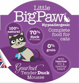 Little BigPaw Gourmet Tender Duck Mousse for Cats 85g