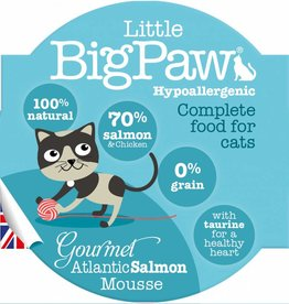 Little BigPaw Gourmet Atlantic Salmon Mousse Cat Wet Food, 85g