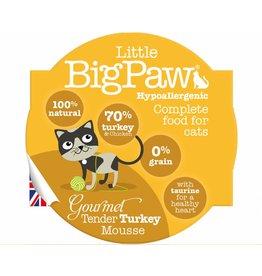 Little BigPaw Gourmet Tender Turkey Mousse Cat Wet Food, 85g