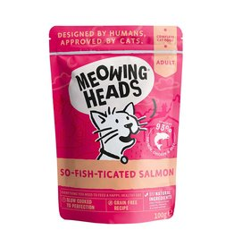 Meowing Heads So-fish-ticated Salmon 100g, Wet Cat Food