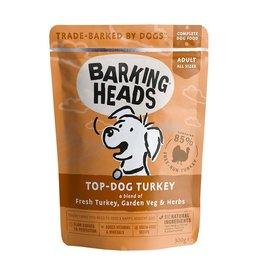 Barking Heads Top Dog Turkey Adult Wet Dog Food, 300g