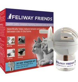 Feliway Friends Happy Cats Diffuser Starter Pack, 48ml
