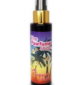 The Pawfume Shop Tropical Tails Designer Fragrance Spray for Dogs, 100ml
