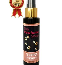 The Pawfume Shop Toto Chienelle Designer Fragrance Spray for Female Dogs, 100ml