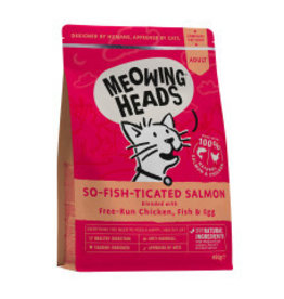 Meowing Heads So-fish-ticated Salmon Adult Cat Dry Food