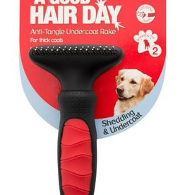Mikki Anti-tangle Undercoat Grooming Rake for Thicks Coats