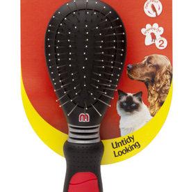 Mikki Grooming Combi Brush, Short to Medium Coats