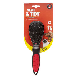 Mikki Combi Dual Sided Grooming Brush for Short & Medium Coats *CLEARANCE