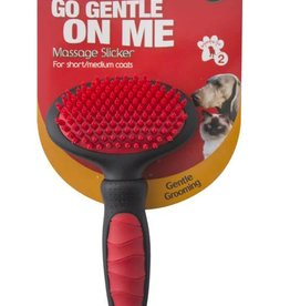 Mikki Grooming Massage Slicker