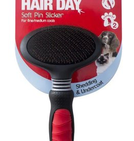 Mikki Grooming Soft Pin Slicker for Cats & Dogs