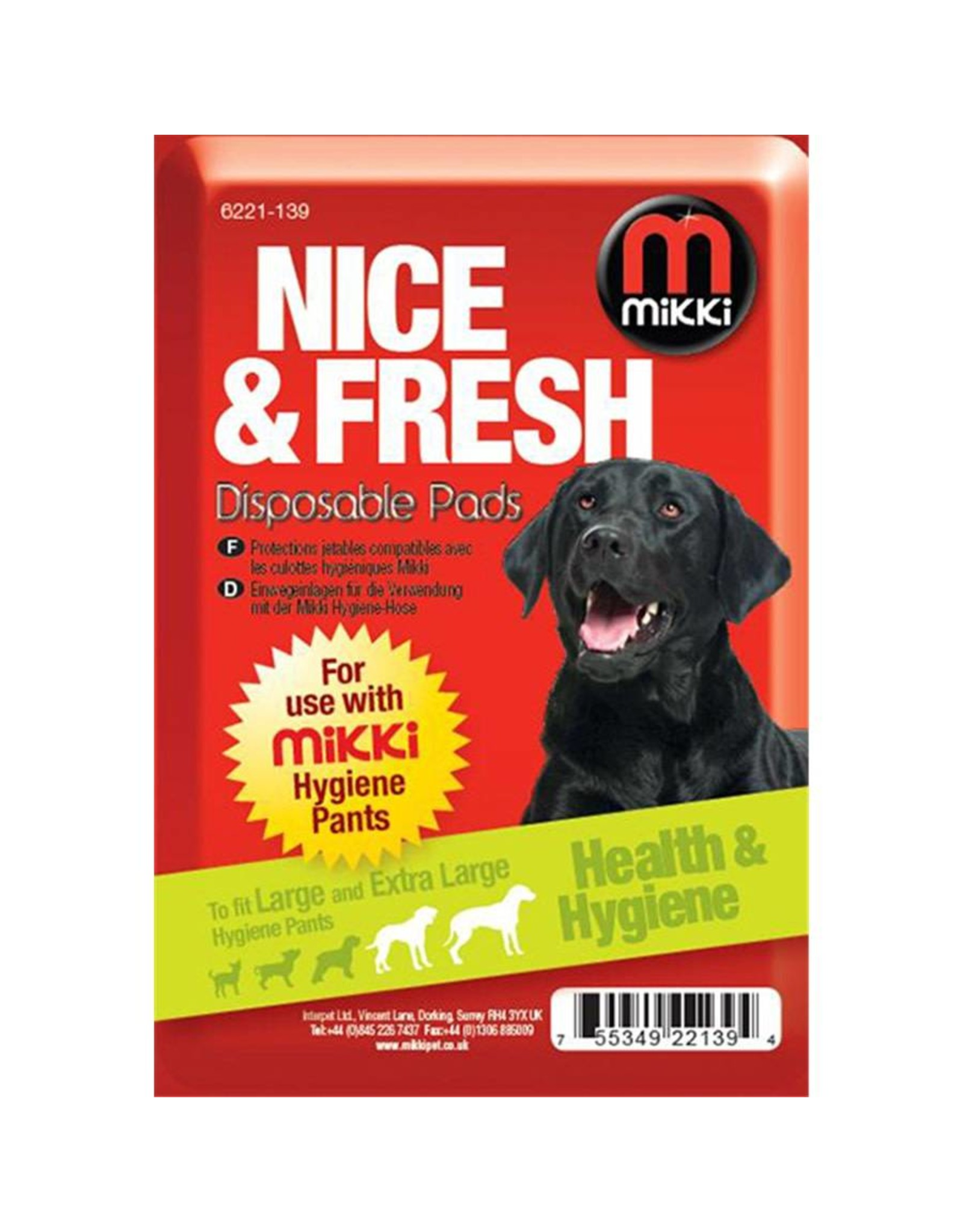 Mikki Disposable Pads for Hygiene Pants