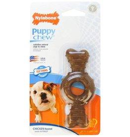 Nylabone Puppy Chew Ring Bone Dog Chew Toy