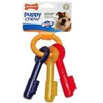 Nylabone Puppy Teething Keys Dog Chew Toy, Medium