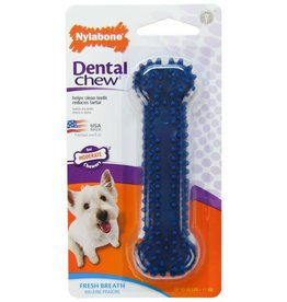 Nylabone Puppy Dental Chicken Blue Dog Chew X Small