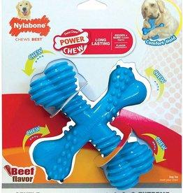 Nylabone Puppy X Bone Beef Dog Chew Small