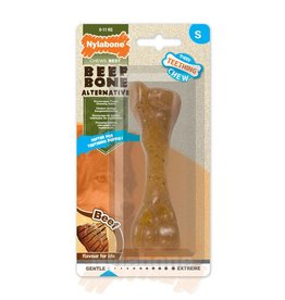 Nylabone Puppy Beef Bone Dog Chew Small