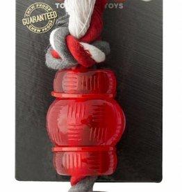 Mighty Mutts Mini Barel With Rope
