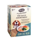 HiLife It's Only Natural The Sauce Assortment Wet  Dog Food Pouch, 5 x 100g