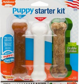 Nylabone Puppy Starter Kit Chewing Set