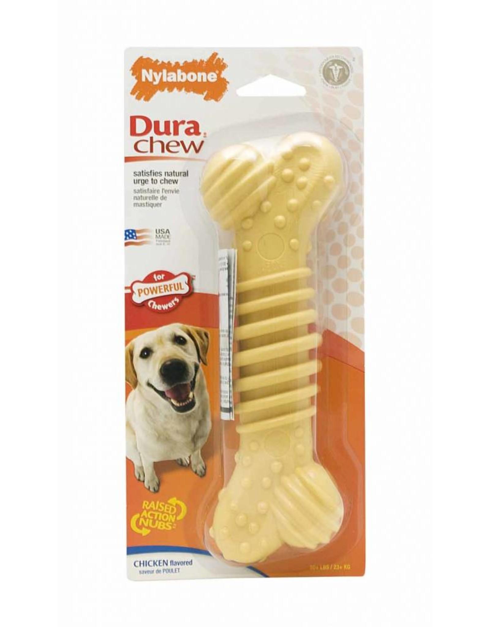 Nylabone Dura Chew Textured Chicken Dog Toy, X Large