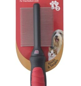 Mikki Grooming Dual Comb for Fine & Medium Coats