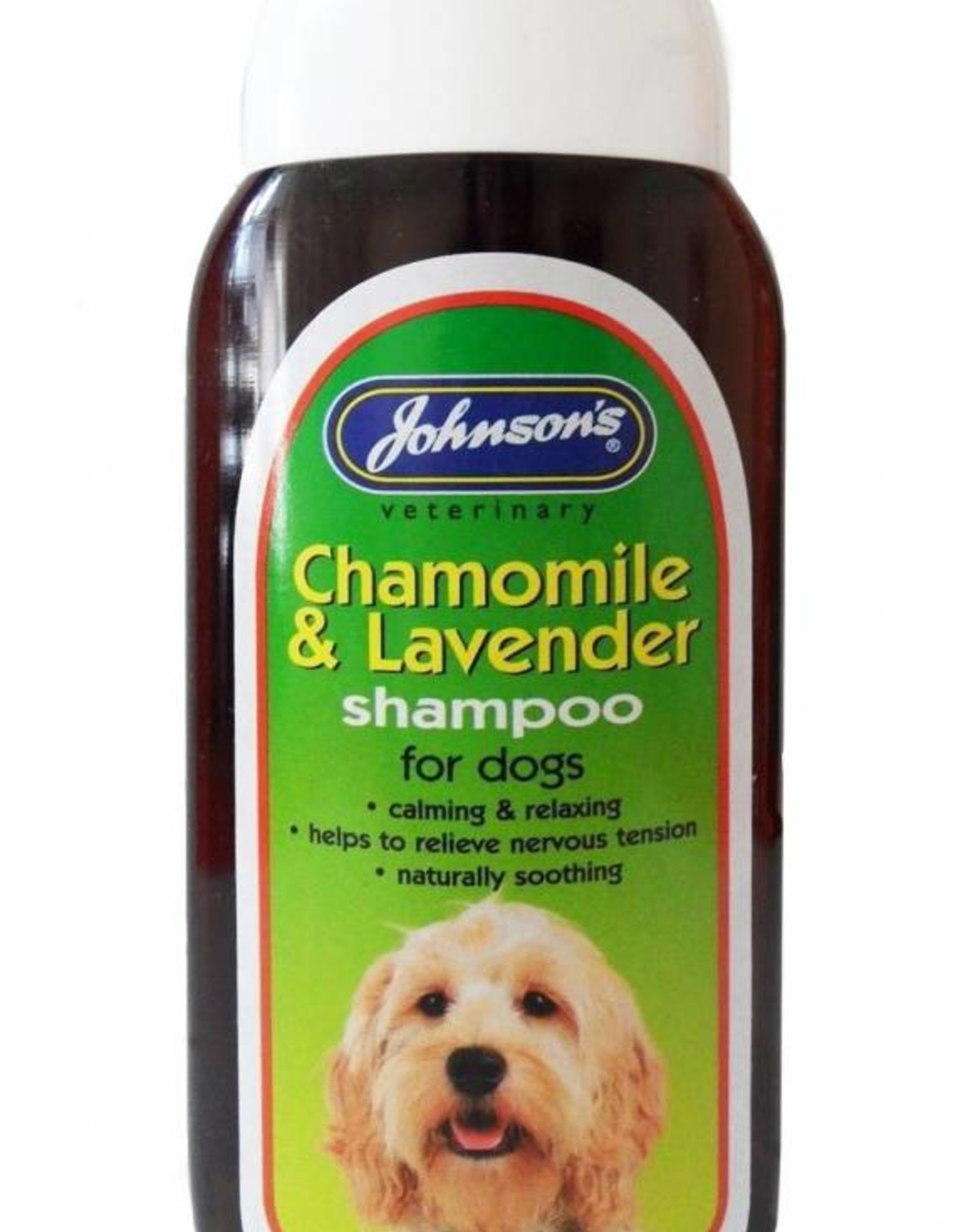 Johnsons Veterinary Chamomile & Lavender Calming Shampoo for Dogs, 200ml