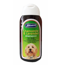 Johnsons Veterinary Chamomile & Lavender Calming Shampoo for Dogs, 200ml