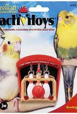 JW Birdie Bowling Cage Bird Toy