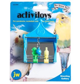 JW Shooting Gallery Cage Bird Toy