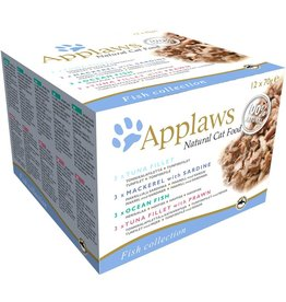 Applaws Cat Wet Food Deluxe Fish Selection 12 x 70g
