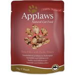 Applaws Cat Wet Food Pouch Tuna Fillet with Pacific Prawn, 70g