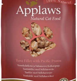 Applaws Cat Wet Food Pouch Tuna Fillet with Pacific Prawn 70g