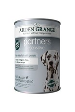 Arden Grange Partners Sensitive Wet Dog Food, White Fish & Potato 395g