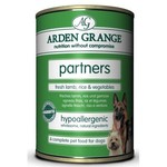 Arden Grange Partners Adult Wet Dog Food, Lamb, Rice & Vegetables 395g, pack of 6