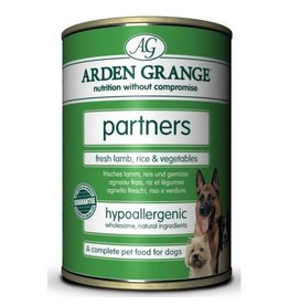 Arden Grange Partners Adult Wet Dog Food, Lamb, Rice & Vegetables 395g, pack of 6
