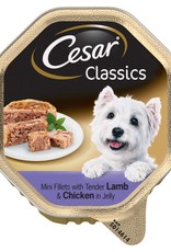 Cesar Adult Dog Wet Food Alutray Lamb & Chicken in Jelly, 150g