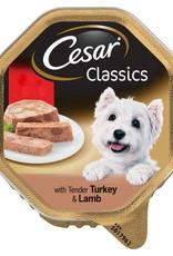Cesar Adult Wet Dog Food Alutray Turkey & Lamb, 150g