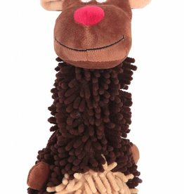 Animate Christmas Reindeer Noodle Dog Toy 13inch