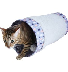 Rosewood Christmas Winter Forest Cat Tunnel Cat Toy