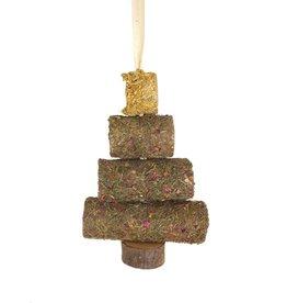 Rosewood Christmas Small Animal Christmas Hay Roll Tree