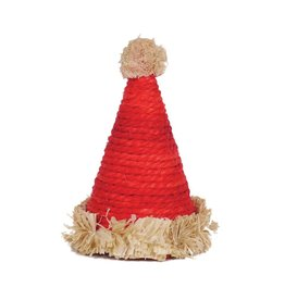 Rosewood Christmas Small Animal Sisal Santa Hat