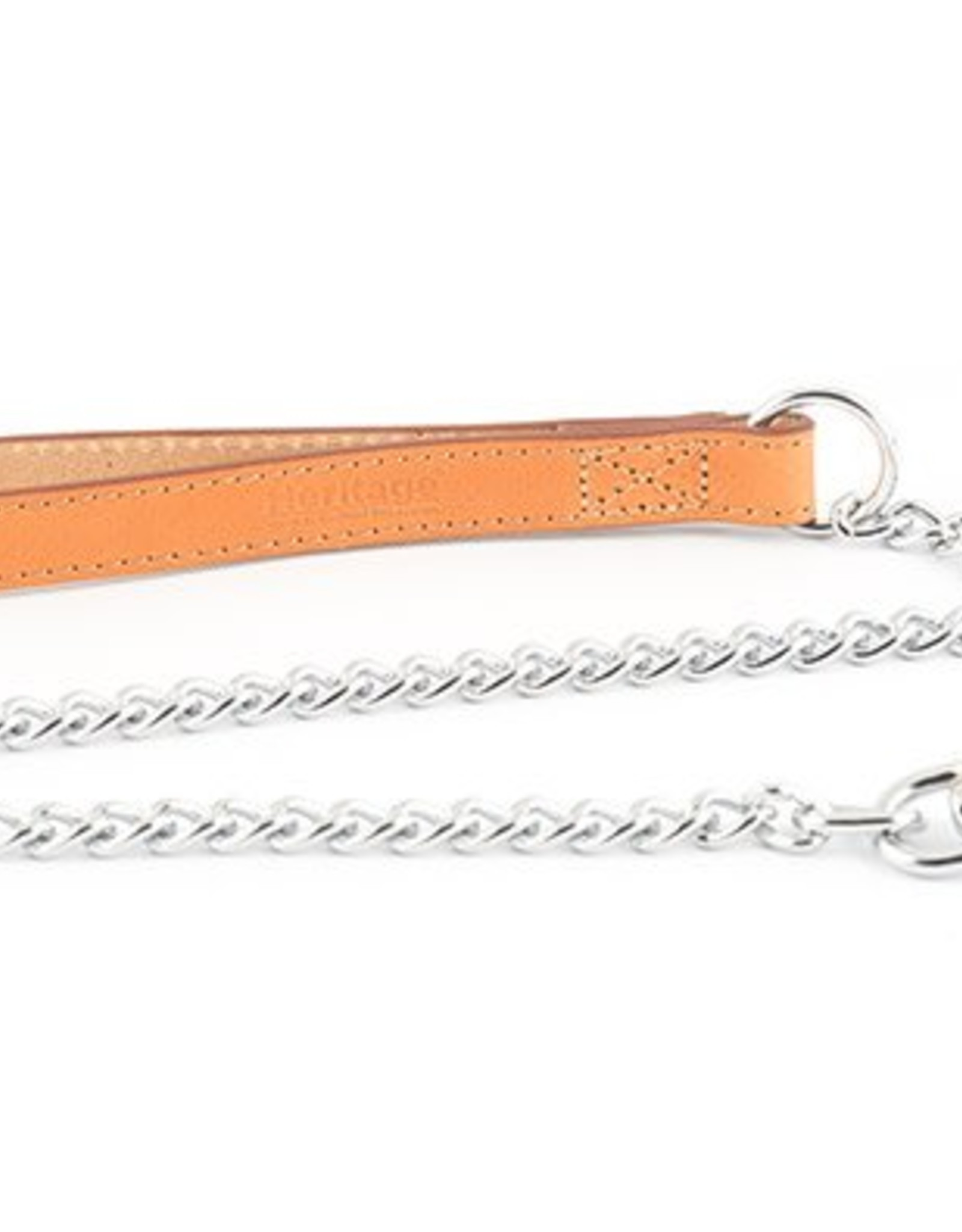 Ancol Diamond Heavy Chain Dog Lead, 80cm