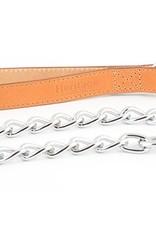 Ancol Diamond Extra Heavy Chain Dog Lead, 80cm