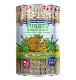 Little BigPaw Turkey with Broccoli & Carrots in Gravy Dog Wet Food, 390g