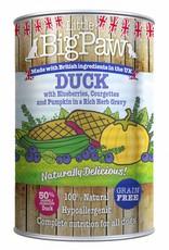 Little BigPaw Duck with Blueberries in Gravy Dog Wet Food, 390g