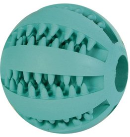 Trixie Denta Fun Baseball Mint Flavour, Natural Rubber 7cm